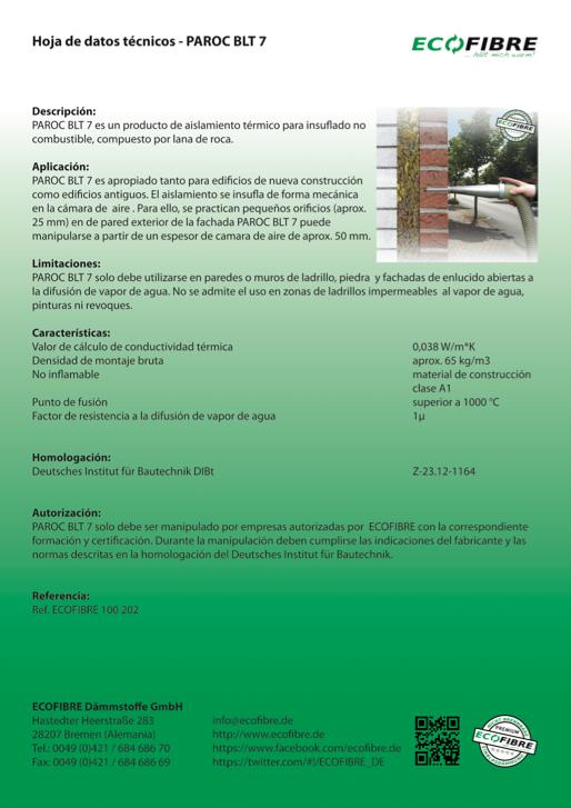 ECOFIBRE PAROC BLT 5