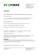 ECOFIBRE GD 9 Ausschreibungstext -belüftetes Flachdach- PDF-Datei