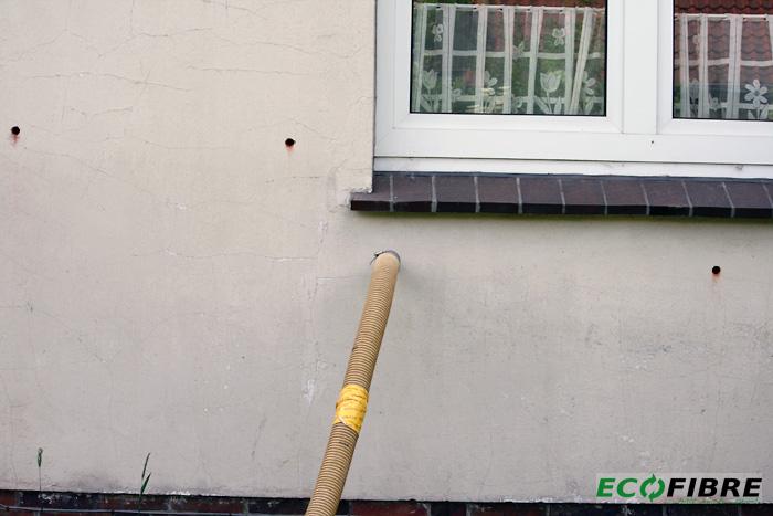 Kerndaemmung Putzfassade mit Luftschicht in Oldenburg