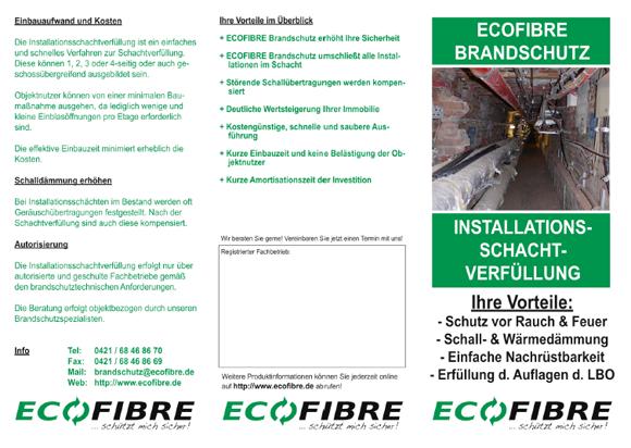 ECOFIBRE Brandschutz